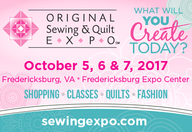 Original Sewing & Quilt Expo (October 5th-7th)